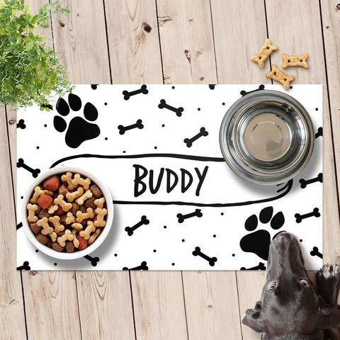 Dotty Pet Feeding Mat