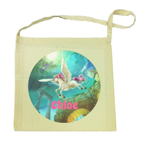 Magical Unicorn Calico Tote Bag