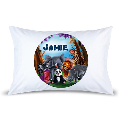 Visits the Zoo Pillow Case