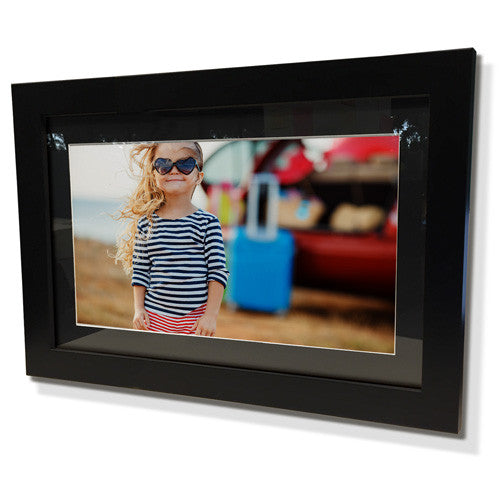 "11x13"" Black Frame with Black Border (5x7"" Print)"
