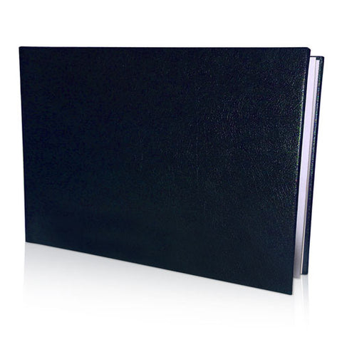 "12 x 16"" Leather Look Padded Padded Cover Book in Presentation Box"