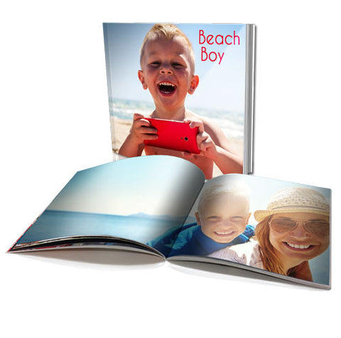 "6 x 6"" Personalised Soft Cover Book (22 Pages)"