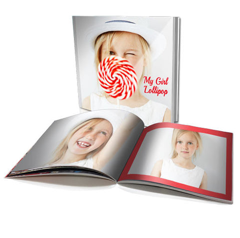 "6x6"" Personalised Soft Cover Book (40 pages)"