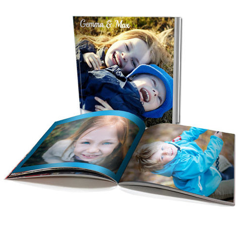 "6x6"" Personalised Soft Cover Book (60 pages)"