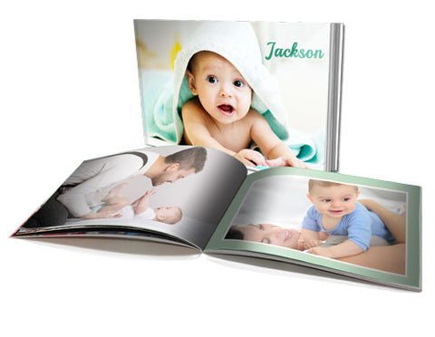 "6 x 8"" Personalised Soft Cover Book (60 Pages)"