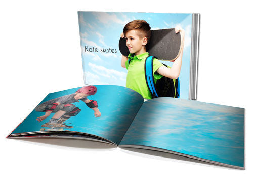 "8x11"" Personalised Soft Cover Book (20 pages)"