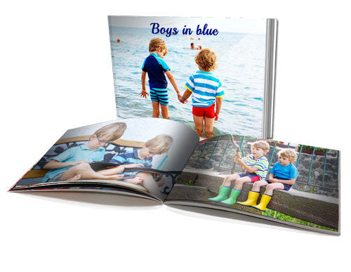 "8x11"" Personalised Soft Cover Book (60 pages)"
