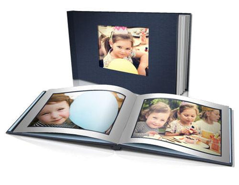"8 x 11"" Classic Hard Cover Book (Bright Red Cover Temporary Out of Stock)"