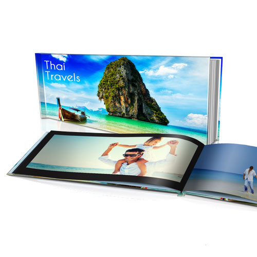 "8x16"" Personalised Hard Cover Book"
