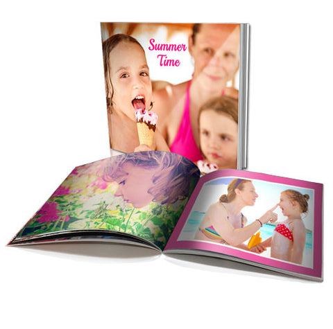 "8 x 8"" Personalised Soft Cover Book (20 Pages)"