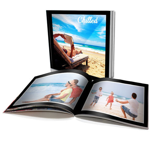 "8x8"" Personalised Soft Cover Book (40 pages)"