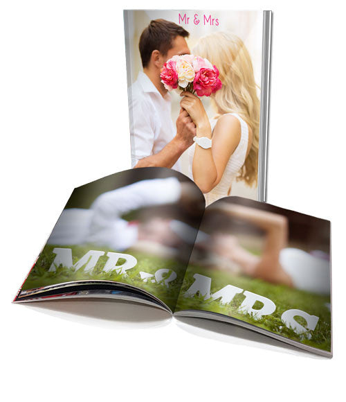 A4 Personalised Soft Cover Book (20 pages)
