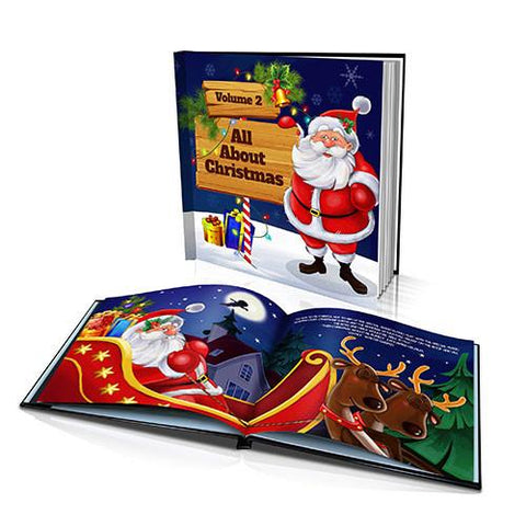 Large Hard Cover Story Book - All About Christmas Volume II