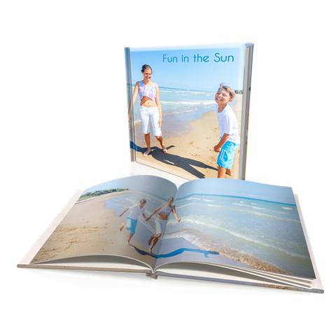 "12x12"" Premium Personalised Padded Cover Book"