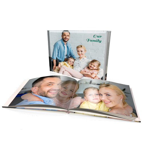 "12x16"" Premium Personalised Padded Cover Book"