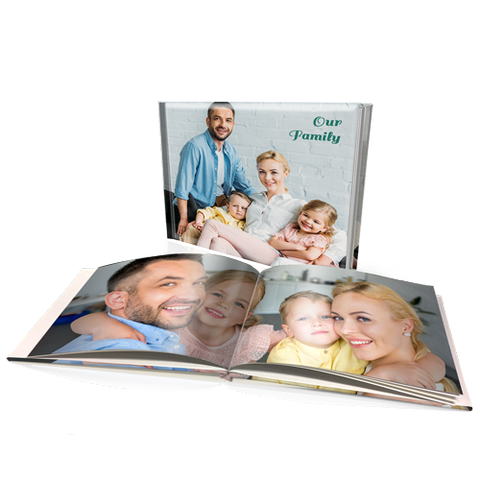 "12 x 16"" Premium Personalised Padded Cover Book"