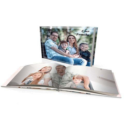 "8x11"" Premium Personalised Padded Cover Book"