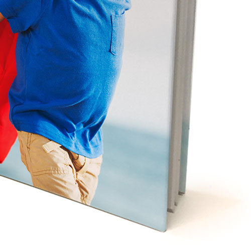 "8 x 8"" Premium Personalised Padded Cover Book in Presentation Box"