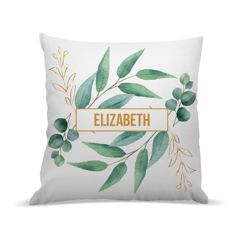 Leaves Premium Cushion Cover