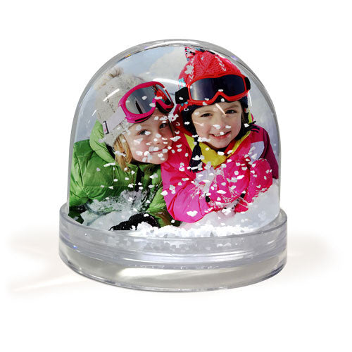 snow globe photoframe