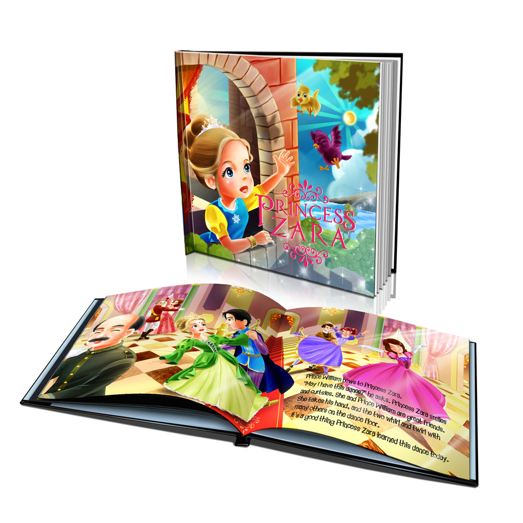 Large Hard Cover Story Book - The Princess