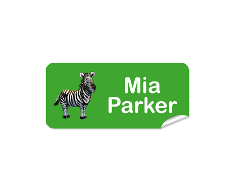 Zebra 48pk Labels - Rectangle
