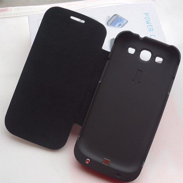 huge selection of 1b0be 8736e Battery Case Flip Case For Samsung Galaxy S3