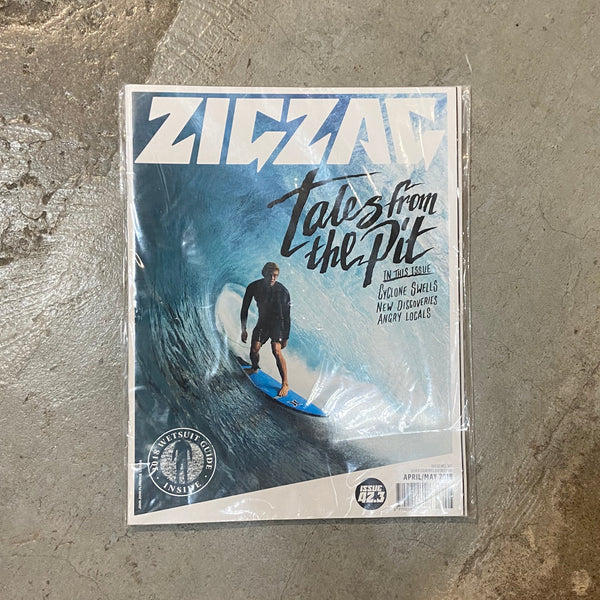 ZIGZAG   ISSUE  APRIL/MAI 2018