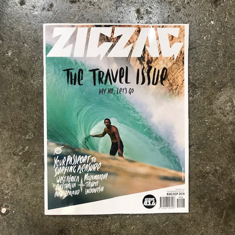 ZIGZAG   ISSUE  AUG/SEPT 2019