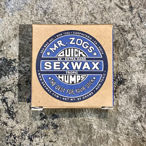 SEX WAX    TROPIC OR BASECOAT