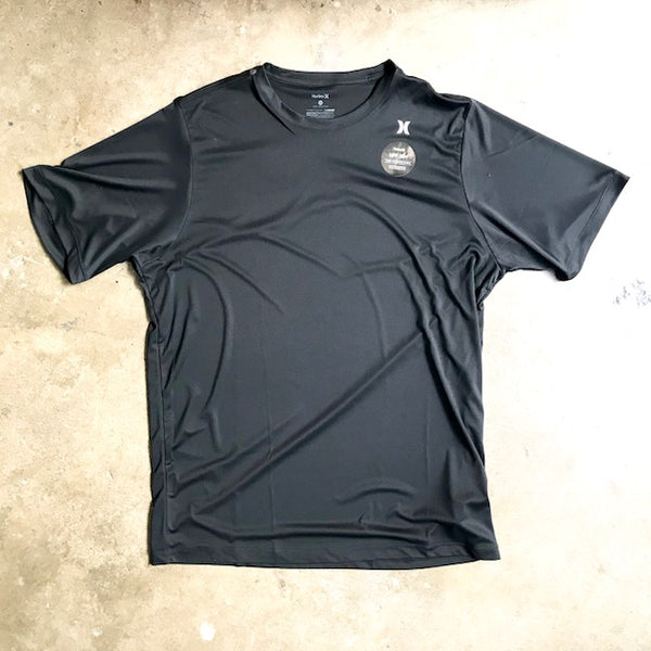 HURLEY   QUICK DRY ICON SURF TOP  BLACK