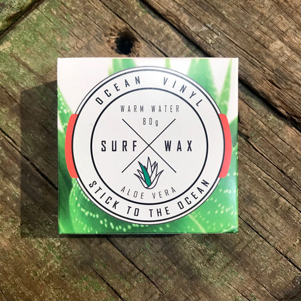 OCEAN VINYL   SURF WAX  WARM WATER