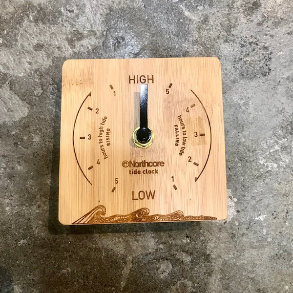 NORTHCORE   BAMBOO TIDE CLOCK   DESKTOP