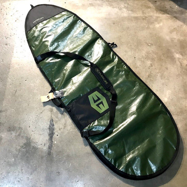 HURRICANE   FISH POLY COVER 6'3  GREEN