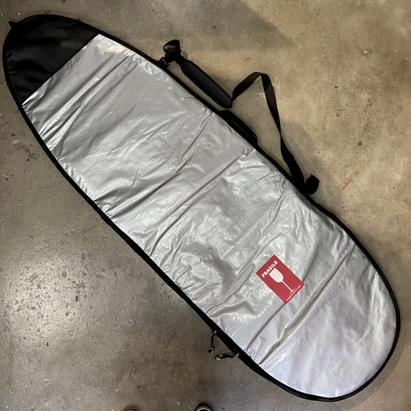 HURRICANE   FISH POLY COVER 6'6  SILVER