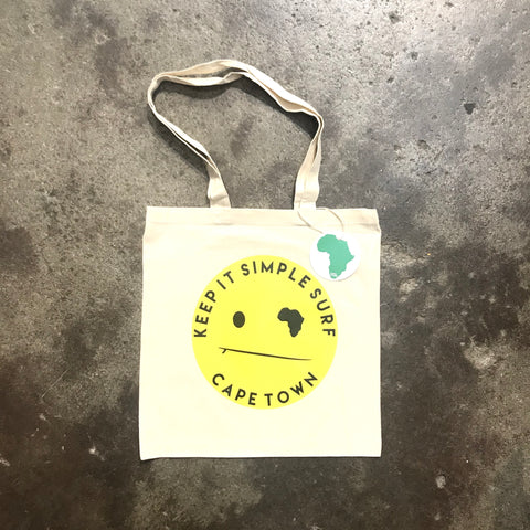 KISS TOTE BAG   SMILEY