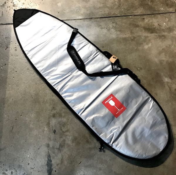 HURRICANE   SINGLE POLY COVER 5'8  SILVER
