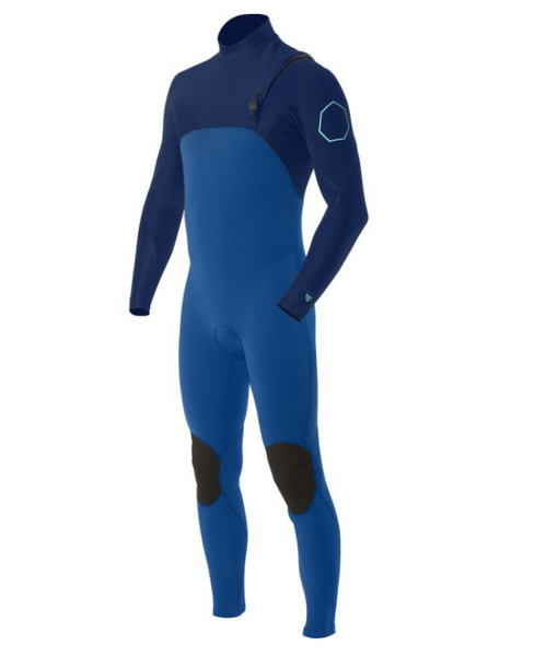 VISSLA   HIGH SEAS 4-3 NO ZIP FULL SUIT