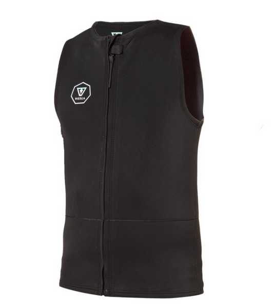 VISSLA   7 SEAS 2MM FRONT ZIP VEST