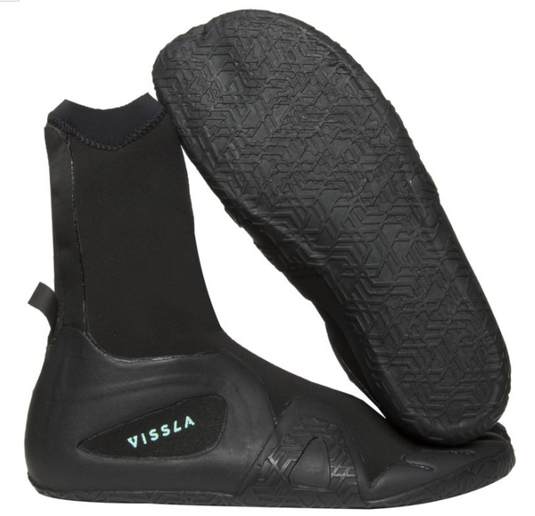 VISSLA   7 SEAS 3MM SPLIT TOE BOOTIE