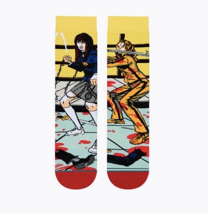 STANCE    KILL BILL-THE BRIDE AND GOGO