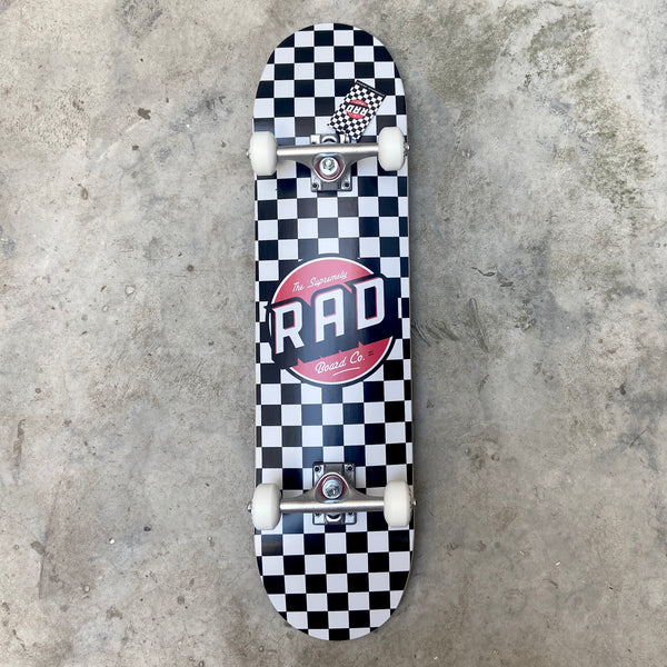 "RAD   CHECKERS DUDE CREW 7.5"" x  31"""