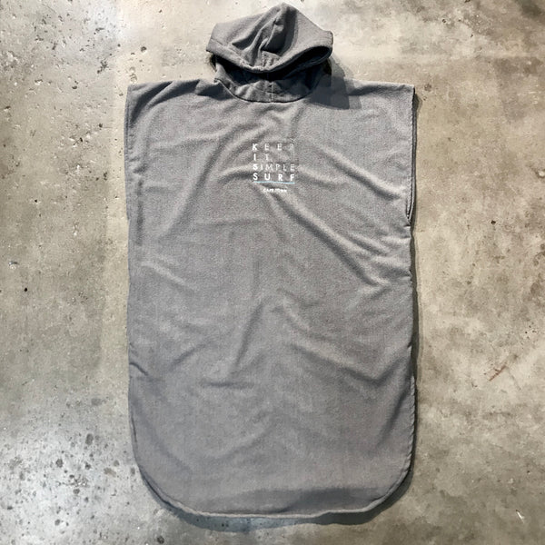 KISS   SURF PONCHO    GREY