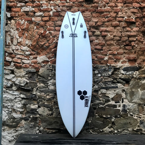 "CHANNEL ISLANDS - ROCKET WIDE  SPINE-TEK  5'10""  20""  2 5/8""   33,5L   FCS"