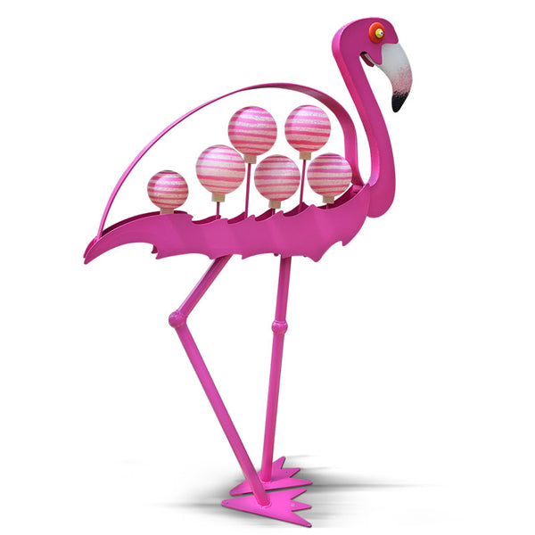 FLAMINGO - Outdoor object, Outdoor sculpture, [Borowski Art Glass in Asia]