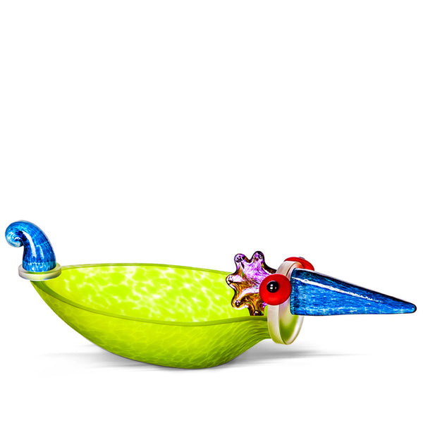 DUCK - Bowl, Bowl, [Borowski Art Glass in Asia]