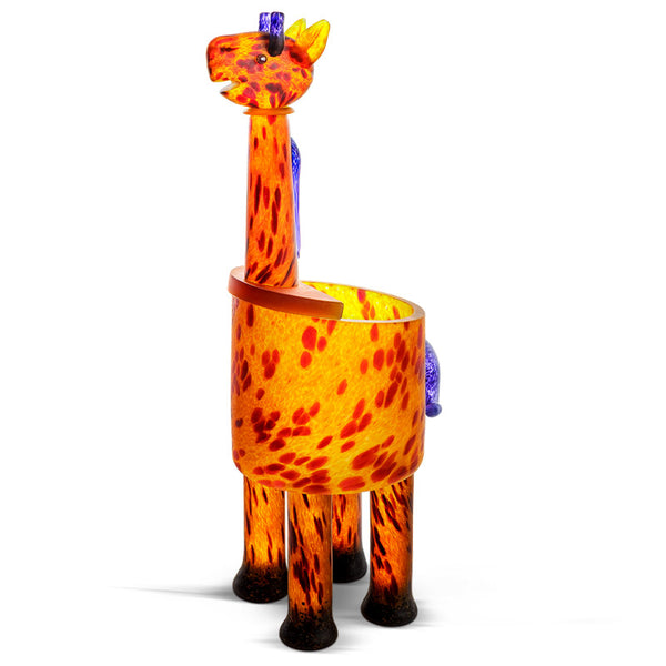 GIRAFFE - Vase, Vase, [Borowski Art Glass in Asia]