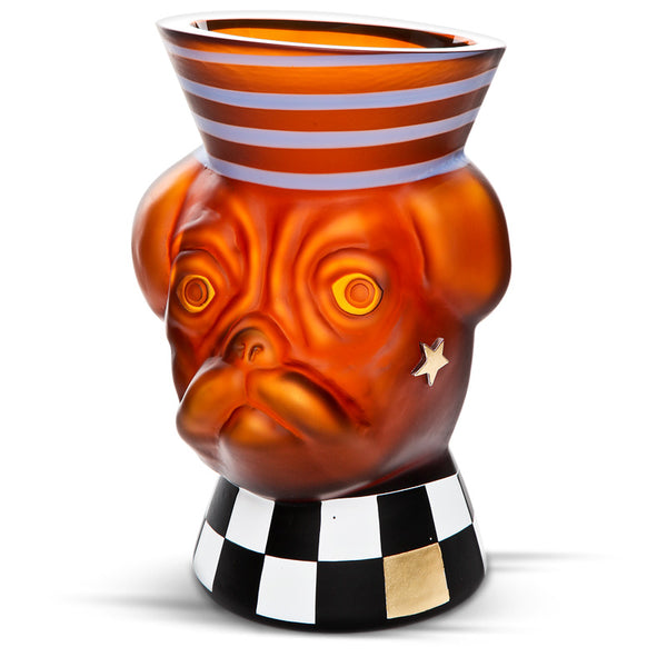 "ANIMALIA ""MAJOR BUD"" - Vase, Vase, [Borowski Art Glass in Asia]"