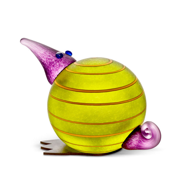 KIWI - Paperweight, Paperweight, [Borowski Art Glass in Asia]