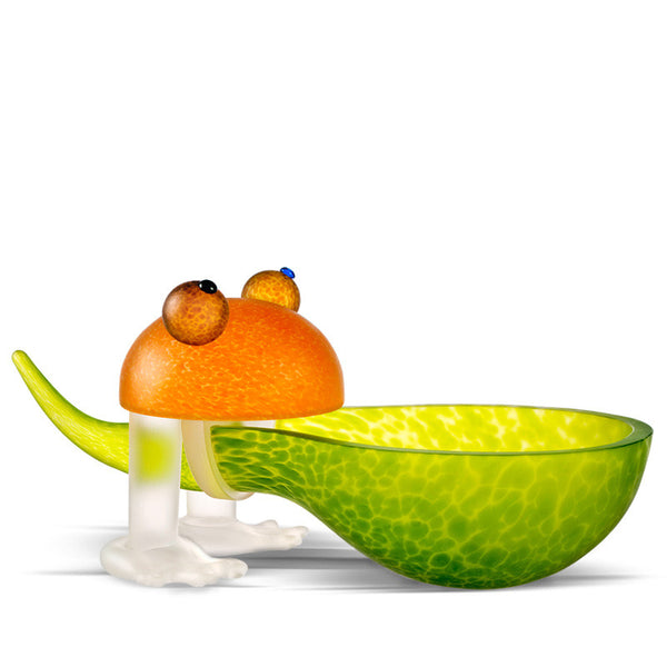 FROSCH - Bowl, Bowl, [Borowski Art Glass in Asia]
